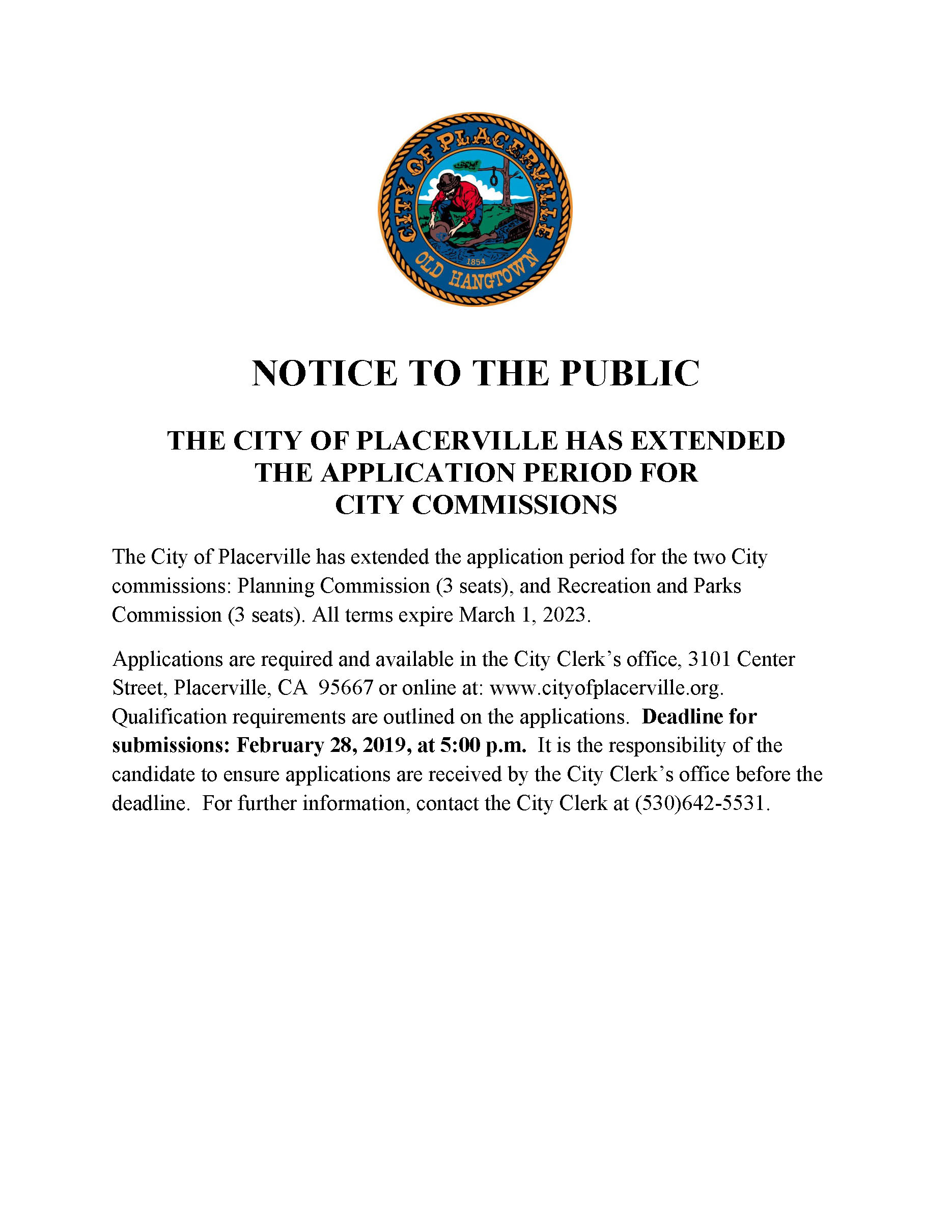 NOTICE TO THE PUBLIC 2019 Commission Extension.jpg